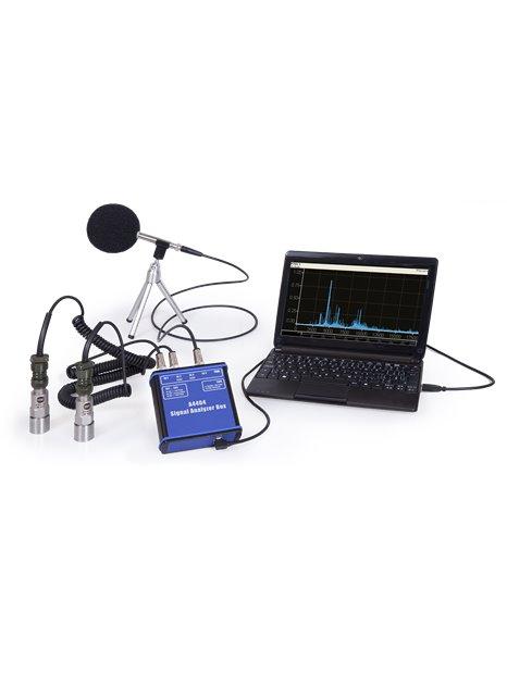 Portable 4-channel vibration analyser A4404 SAB