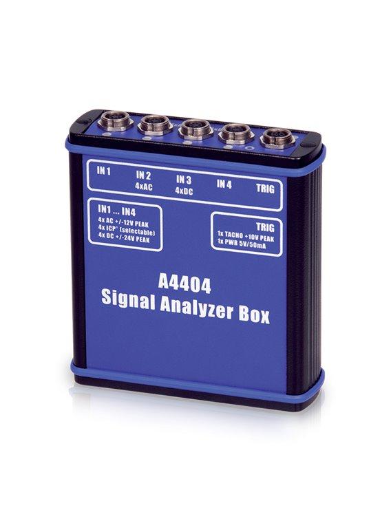 Portabler 4- Kanal Schwingungsanalysator A4404 SAB