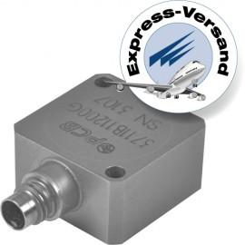 Capacitive accelerometer sensors